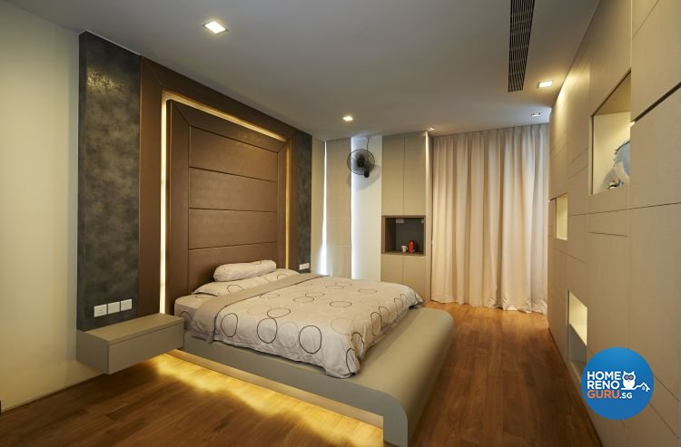 Contemporary, Modern, Scandinavian Design - Bedroom - Landed House - Design by U-Home Interior Design Pte Ltd