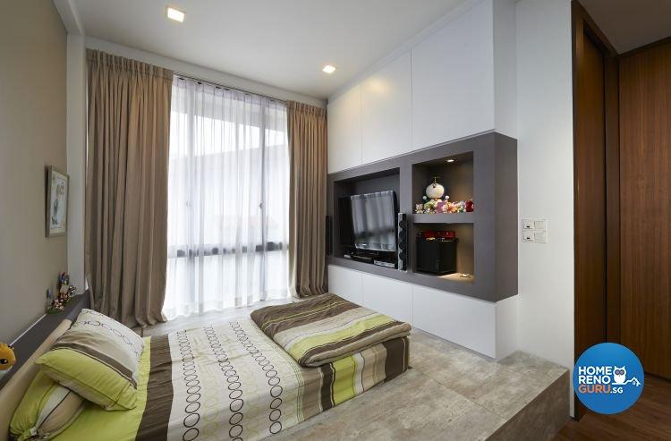 Contemporary, Modern, Scandinavian Design - Bedroom - Landed House - Design by U-Home Interior Design Pte Ltd
