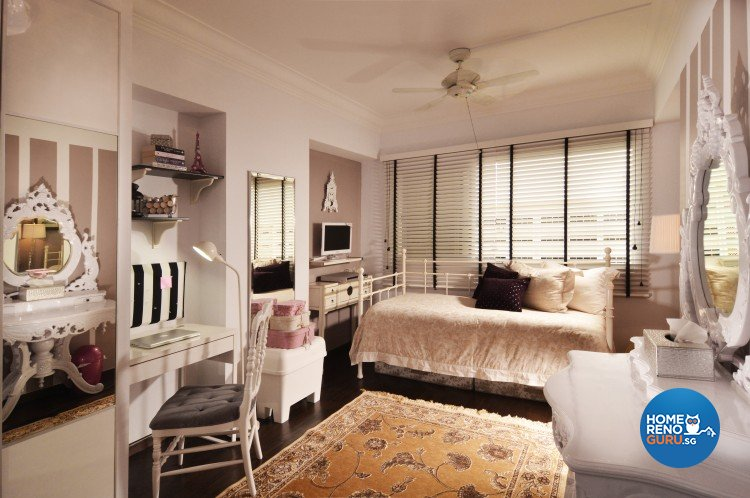 Classical, Country Design - Bedroom - HDB Executive Apartment - Design by U-Home Interior Design Pte Ltd
