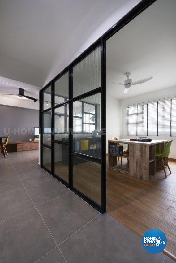 Contemporary, Modern, Scandinavian Design - Study Room - HDB 4 Room - Design by U-Home Interior Design Pte Ltd