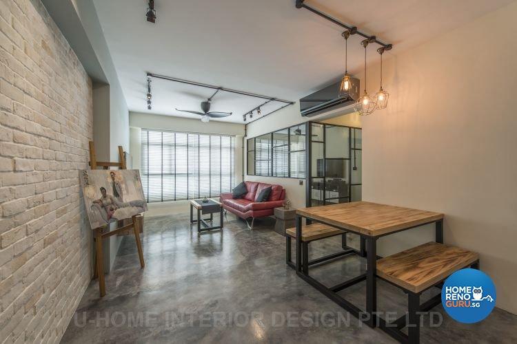 U-Home Interior Design Pte Ltd-HDB 4-Room package
