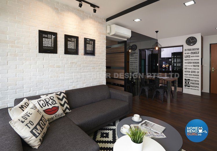 Hdb 4 Rooms Senja U Home Interior Design Pte Ltd