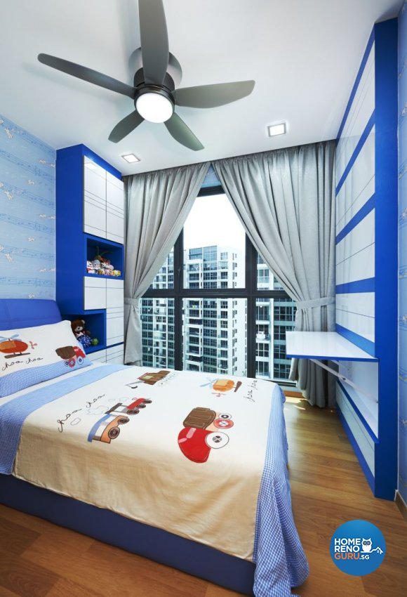 Contemporary, Minimalist Design - Bedroom - HDB 4 Room - Design by U-Home Interior Design Pte Ltd