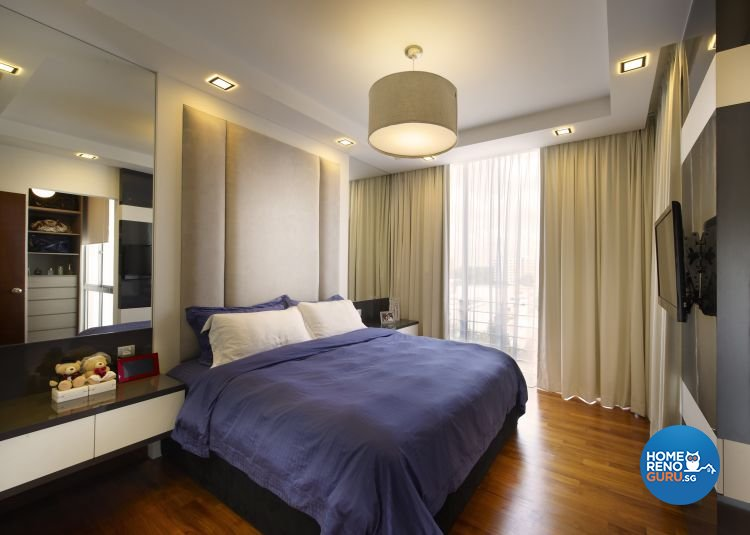 Contemporary, Modern, Scandinavian Design - Bedroom - Condominium - Design by U-Home Interior Design Pte Ltd