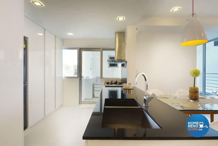 Contemporary, Modern, Scandinavian Design - Kitchen - Condominium - Design by U-Home Interior Design Pte Ltd