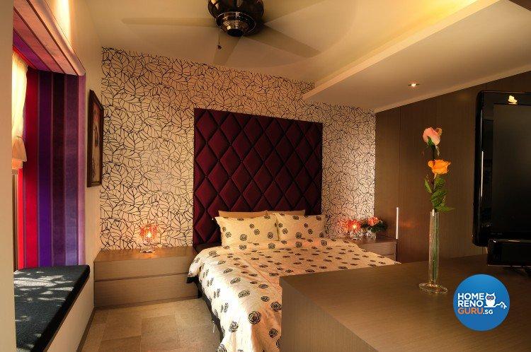 Contemporary, Country, Modern Design - Bedroom - Landed House - Design by U-Home Interior Design Pte Ltd