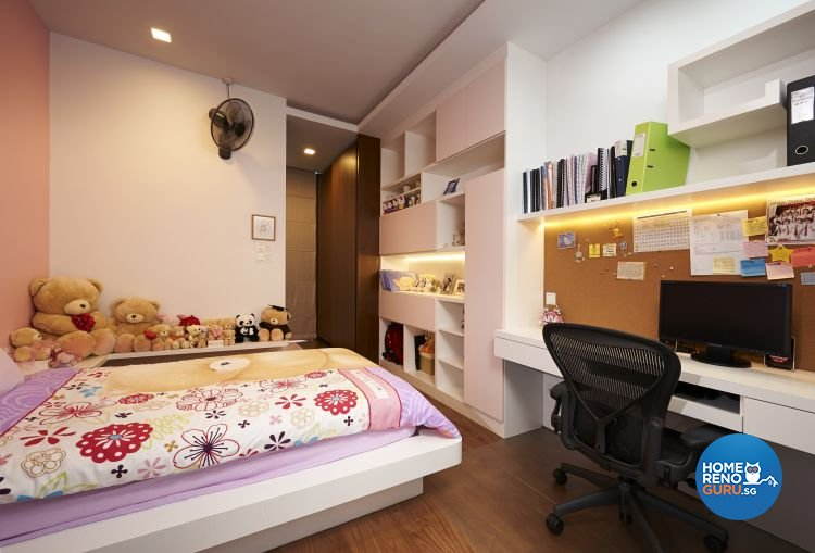 Minimalist, Modern Design - Bedroom - Landed House - Design by U-Home Interior Design Pte Ltd