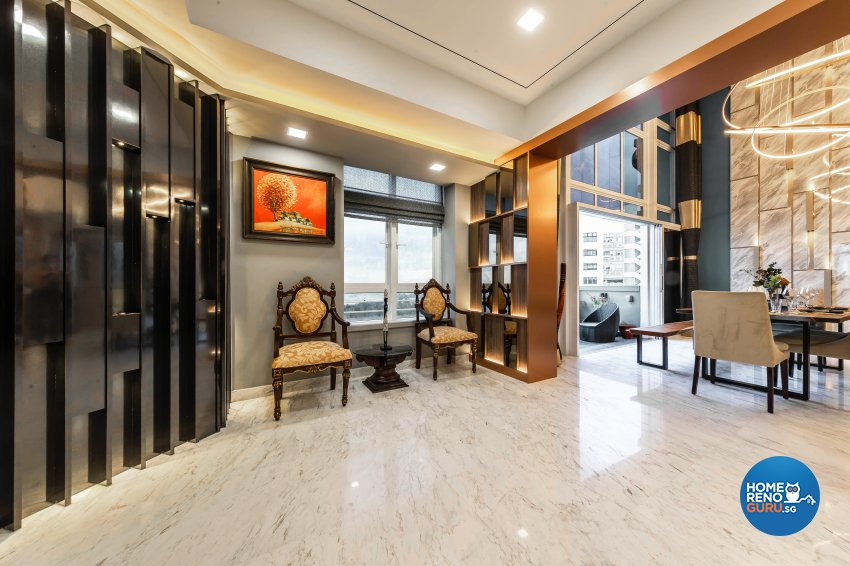 Modern Design - Living Room - Condominium - Design by U-Home Interior Design Pte Ltd