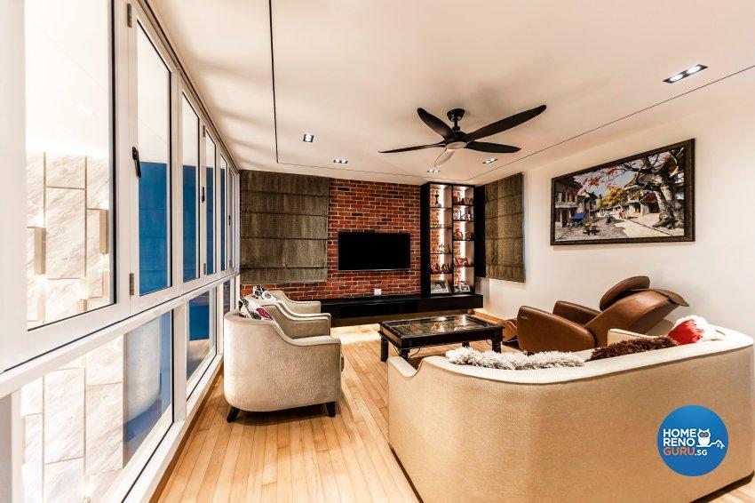 Modern Design - Entertainment Room - Condominium - Design by U-Home Interior Design Pte Ltd