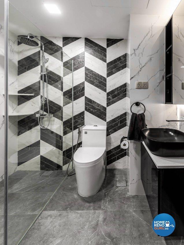 Modern Design - Bathroom - Condominium - Design by U-Home Interior Design Pte Ltd