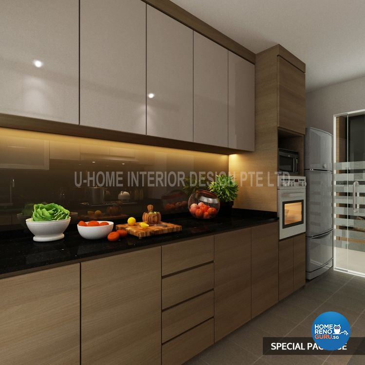 U Home Interior Design Pte Ltd Kitchen And Bathroom Package