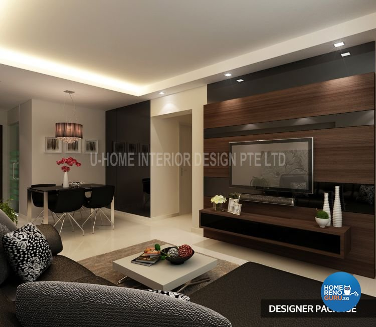 U Home Interior Design Pte Ltd HDB 4 Room Package