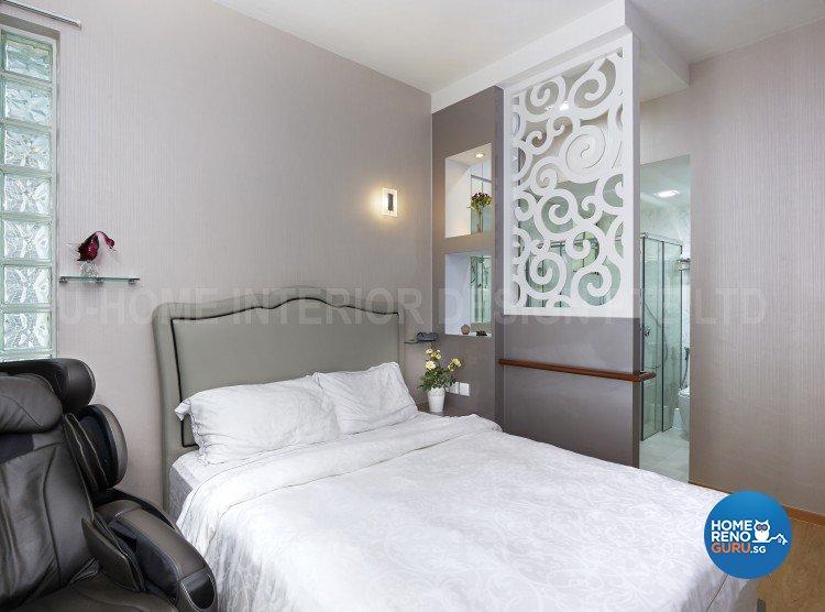 Minimalist, Modern Design - Bedroom - Condominium - Design by U-Home Interior Design Pte Ltd