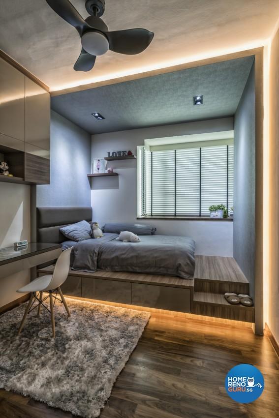 Modern Design - Bedroom - Condominium - Design by U-Home Interior Design Pte Ltd