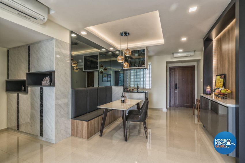 U home interior design pte ltd parkgreen condo 4540 singapore interior design gallery for U home interior design pte ltd
