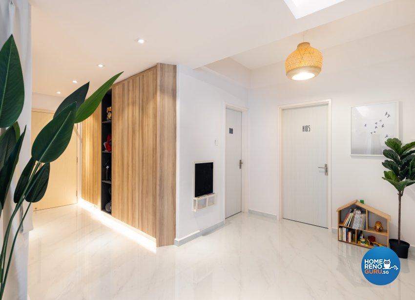 Minimalist, Scandinavian Design - Living Room - Condominium - Design by U-Home Interior Design Pte Ltd