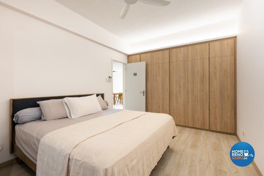 Minimalist, Scandinavian Design - Bedroom - Condominium - Design by U-Home Interior Design Pte Ltd