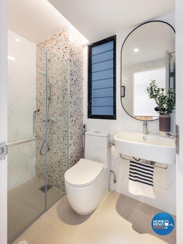 Minimalist, Scandinavian Design - Bathroom - Condominium - Design by U-Home Interior Design Pte Ltd