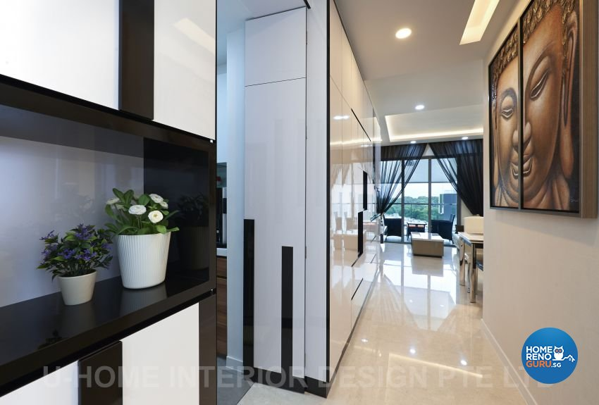 Contemporary, Modern Design - Living Room - Condominium - Design by U-Home Interior Design Pte Ltd