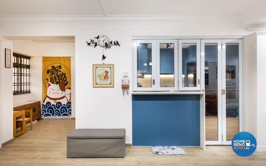 Modern, Scandinavian Design - Kitchen - HDB 5 Room - Design by U-Home Interior Design Pte Ltd