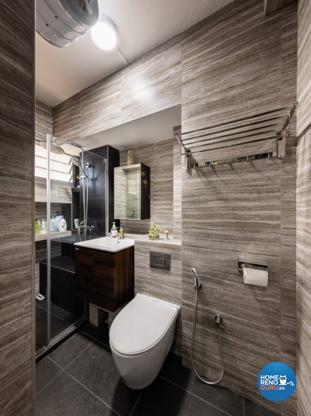 Modern, Scandinavian Design - Bathroom - HDB 5 Room - Design by U-Home Interior Design Pte Ltd