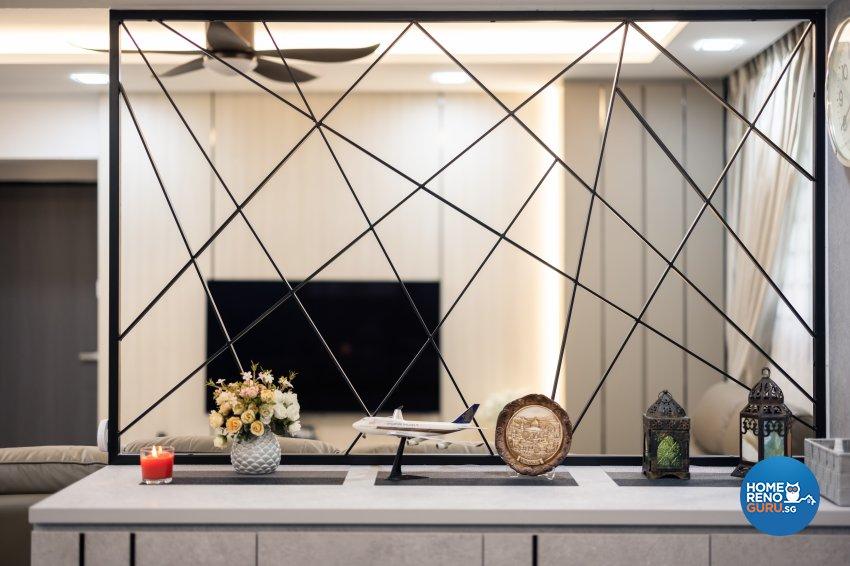 Modern, Scandinavian Design - Living Room - HDB 5 Room - Design by U-Home Interior Design Pte Ltd