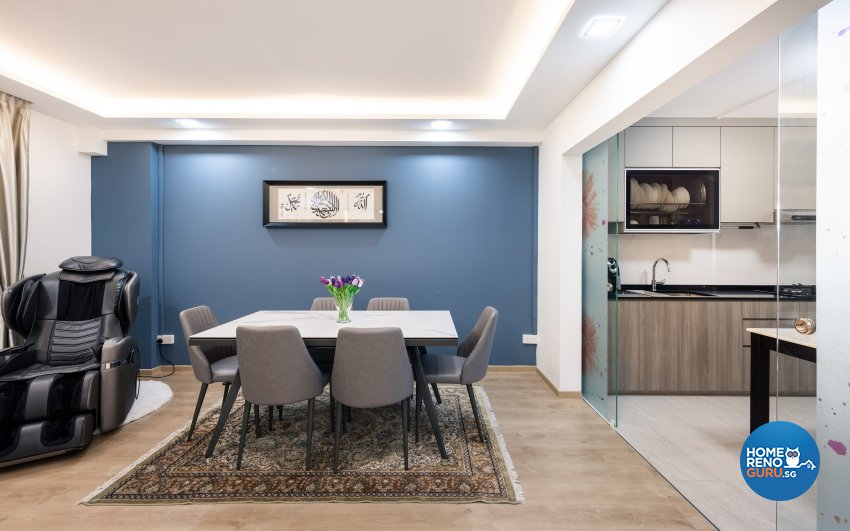 Modern, Scandinavian Design - Dining Room - HDB 5 Room - Design by U-Home Interior Design Pte Ltd