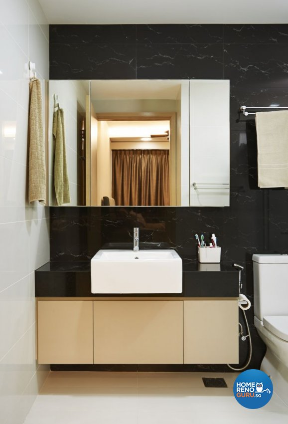 Contemporary, Modern, Scandinavian Design - Bathroom - HDB 3 Room - Design by U-Home Interior Design Pte Ltd