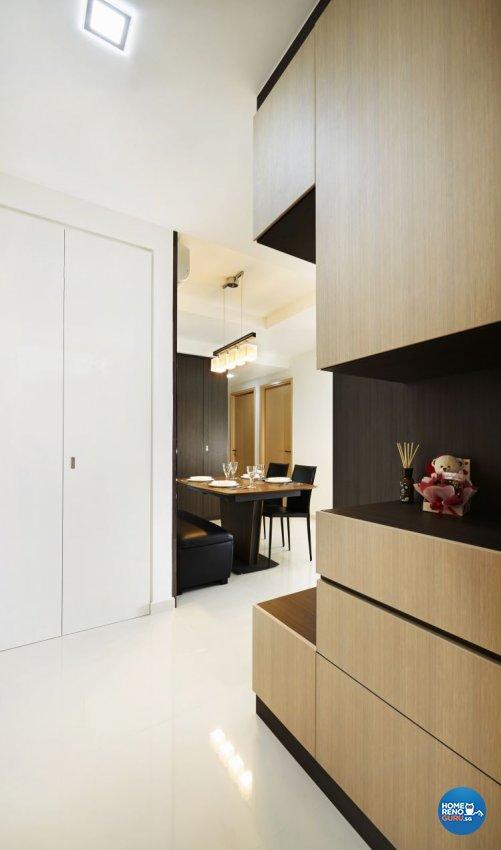 Contemporary, Modern, Scandinavian Design - Living Room - HDB 3 Room - Design by U-Home Interior Design Pte Ltd
