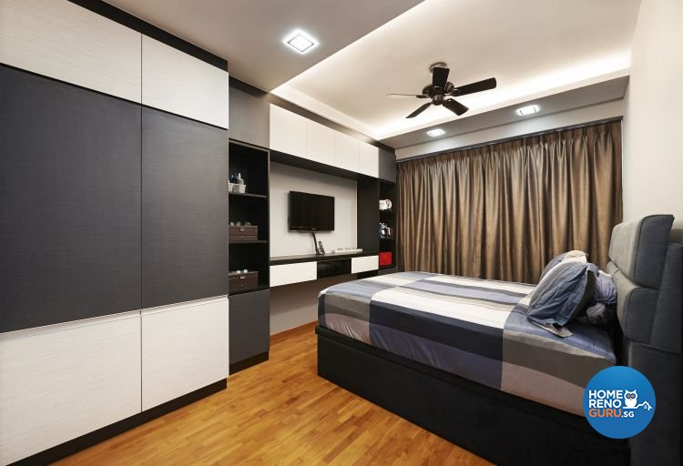 Contemporary, Modern, Scandinavian Design - Bedroom - HDB 3 Room - Design by U-Home Interior Design Pte Ltd