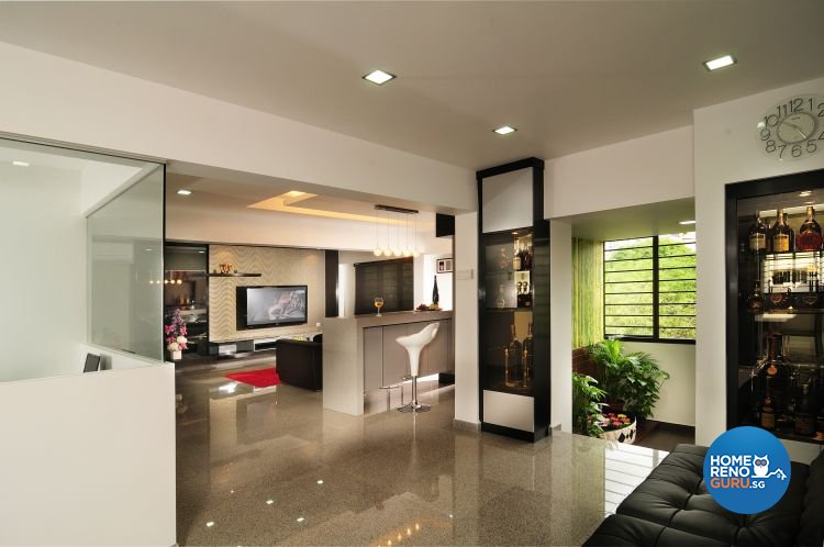Foyer Design Hdb : Singapore interior design gallery details