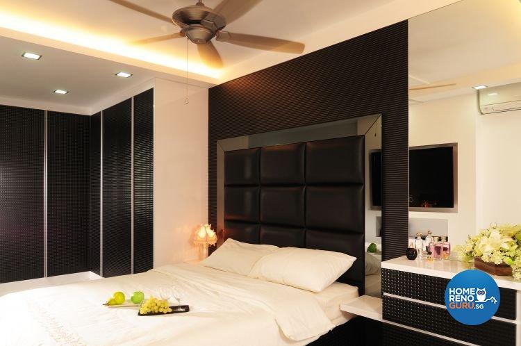 Contemporary, Modern Design - Bedroom - HDB 5 Room - Design by U-Home Interior Design Pte Ltd