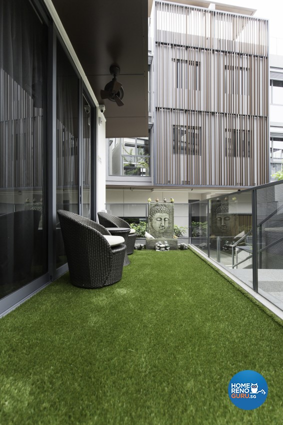 Contemporary, Modern Design - Balcony - Landed House - Design by U-Home Interior Design Pte Ltd