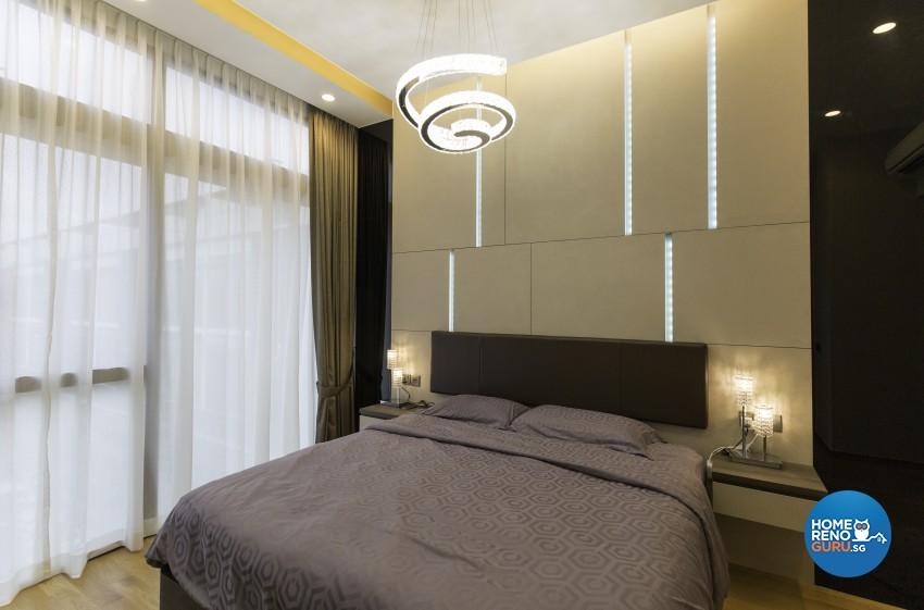 Contemporary, Modern Design - Bedroom - Landed House - Design by U-Home Interior Design Pte Ltd
