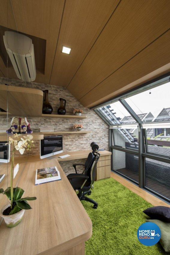 Attic design pte ltd image balcony and attic for Home dec far east ltd