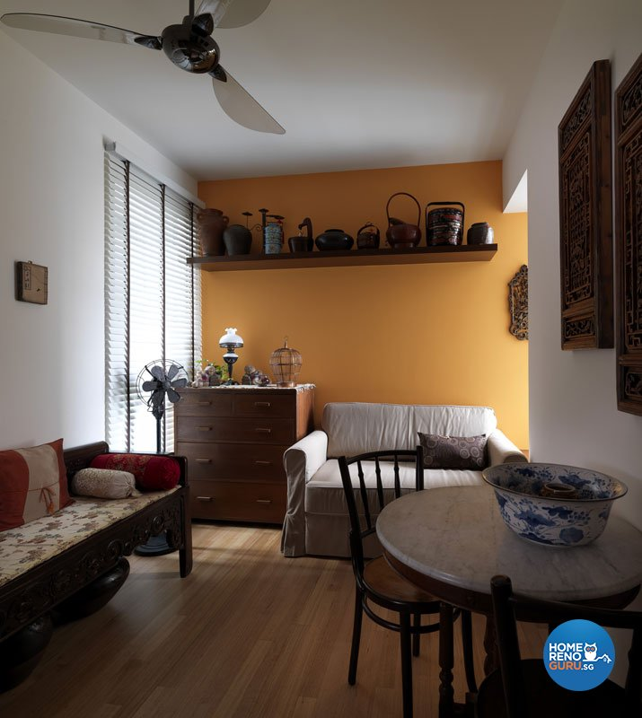 Contemporary, Retro Design - Living Room - HDB 3 Room - Design by Ultimate Interior Creation Pte Ltd