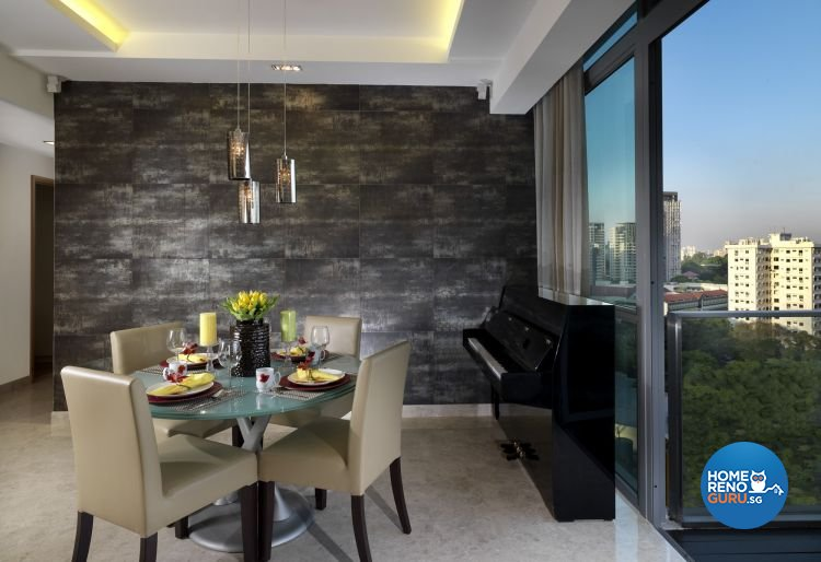 Contemporary, Modern Design - Dining Room - Condominium - Design by Ultimate Interior Creation Pte Ltd