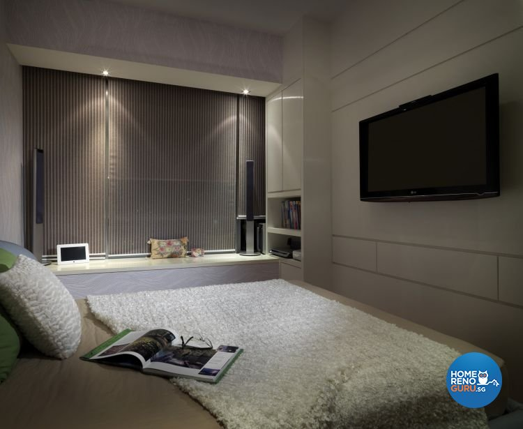 Contemporary, Modern Design - Bedroom - Condominium - Design by Ultimate Interior Creation Pte Ltd