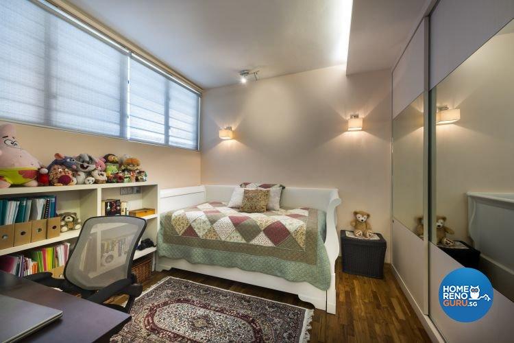 Rustic, Tropical Design - Bedroom - Condominium - Design by Ultimate Interior Creation Pte Ltd