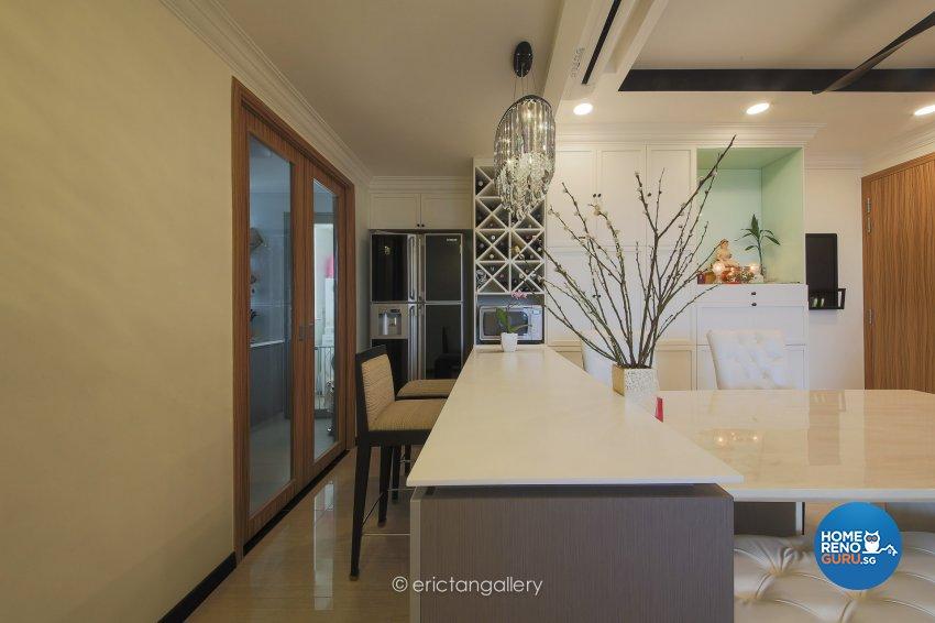 Country, Modern, Victorian Design - Dining Room - Condominium - Design by DAP Atelier