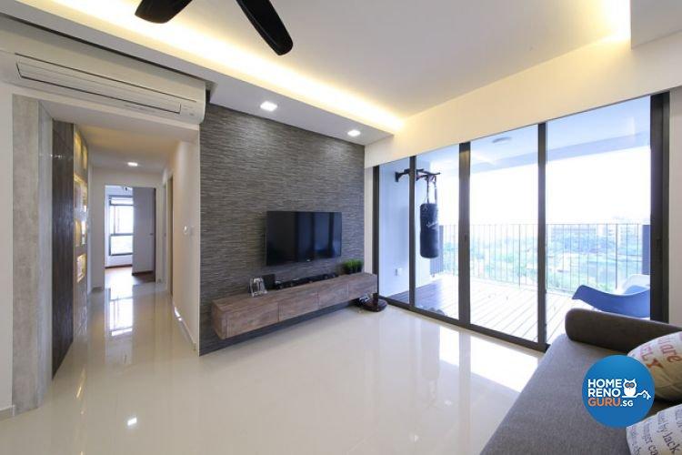 Modern, Rustic, Scandinavian Design - Balcony - Others - Design by DAP Atelier