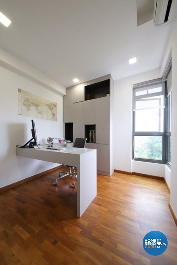 Modern, Rustic, Scandinavian Design - Study Room - Others - Design by DAP Atelier