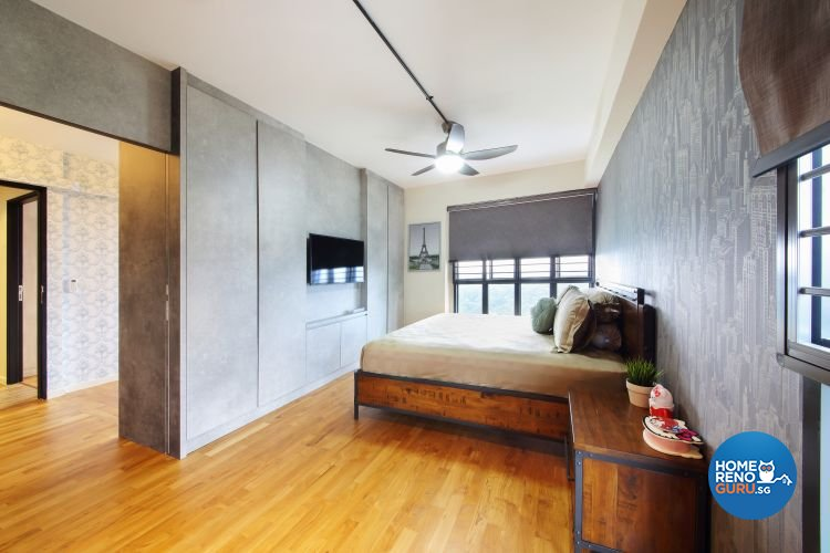 Eclectic, Modern, Rustic Design - Bedroom - Others - Design by DAP Atelier