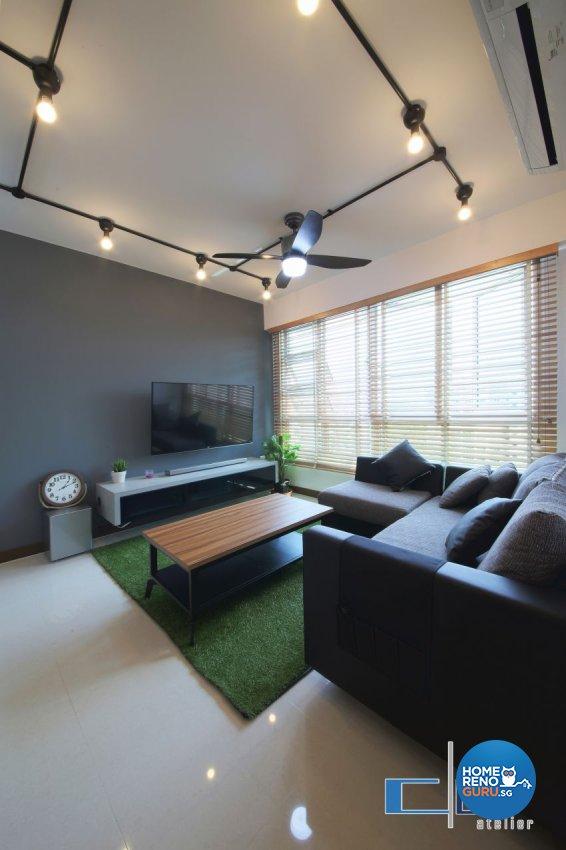 Industrial, Modern, Scandinavian Design - Living Room - Others - Design by DAP Atelier