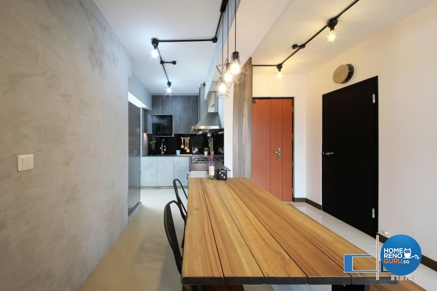 Industrial, Modern, Scandinavian Design - Dining Room - Others - Design by DAP Atelier
