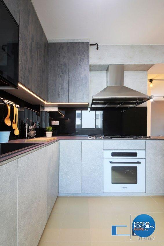 Industrial, Modern, Scandinavian Design - Kitchen - Others - Design by DAP Atelier