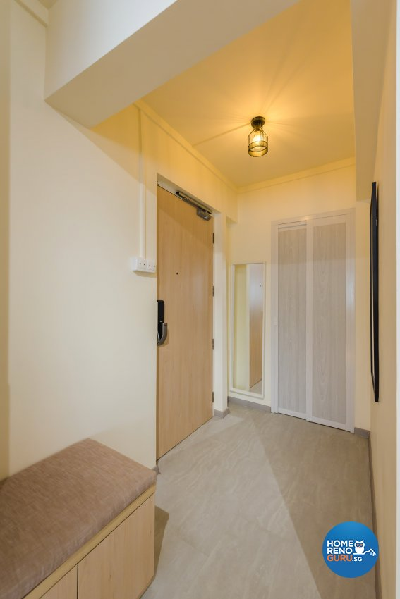 Minimalist, Modern, Scandinavian Design - Living Room - HDB 5 Room - Design by DAP Atelier