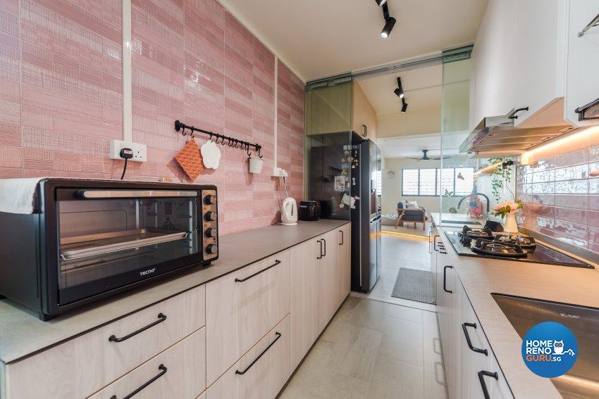 Minimalist, Modern, Scandinavian Design - Kitchen - HDB 5 Room - Design by DAP Atelier