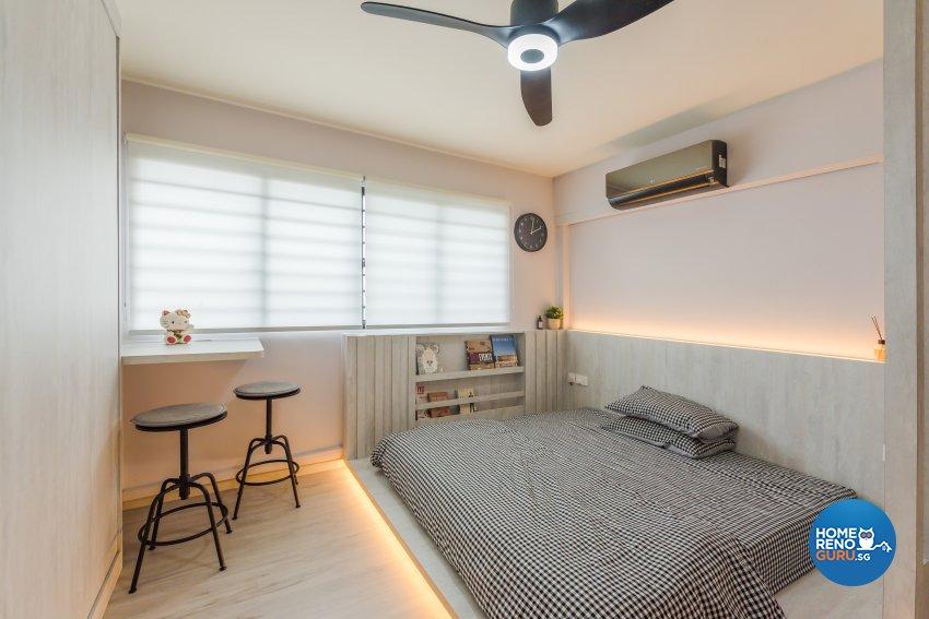 Minimalist, Modern, Scandinavian Design - Bedroom - HDB 5 Room - Design by DAP Atelier