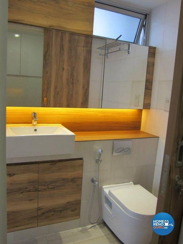 Contemporary Design - Bathroom - Condominium - Design by DAP Atelier